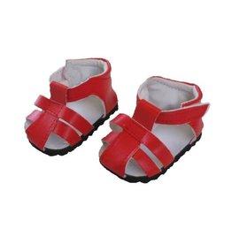 Mini Mommy Rode Sandaaltjes