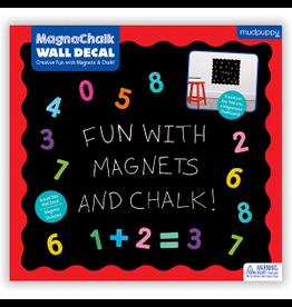 """Mudpuppy MagnaChalk Wall Decals Fun """"123"""""""