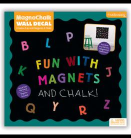 """Mudpuppy MagnaChalk Wall Decals Fun """"ABC"""""""