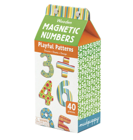 Mudpuppy Wooden Magnetic Numbers