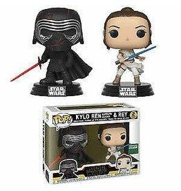Funko Pop! Funko Pop! Star Wars 2-Pack Kylo Ren & Rey