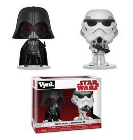 Funko Funko Vynl Star Wars Darth Vader + Stormtrooper