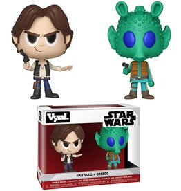 Funko Funko Vynl Star Wars Han Solo + Greedo