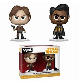 Funko Funko Vynl Star Wars Han Solo + Lando Calrissian