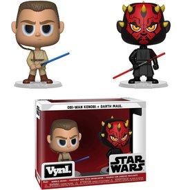 Funko Funko Vynl Star Wars Obi-Wan + Darth Maul
