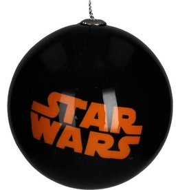 Star Wars Logo Kerstbal