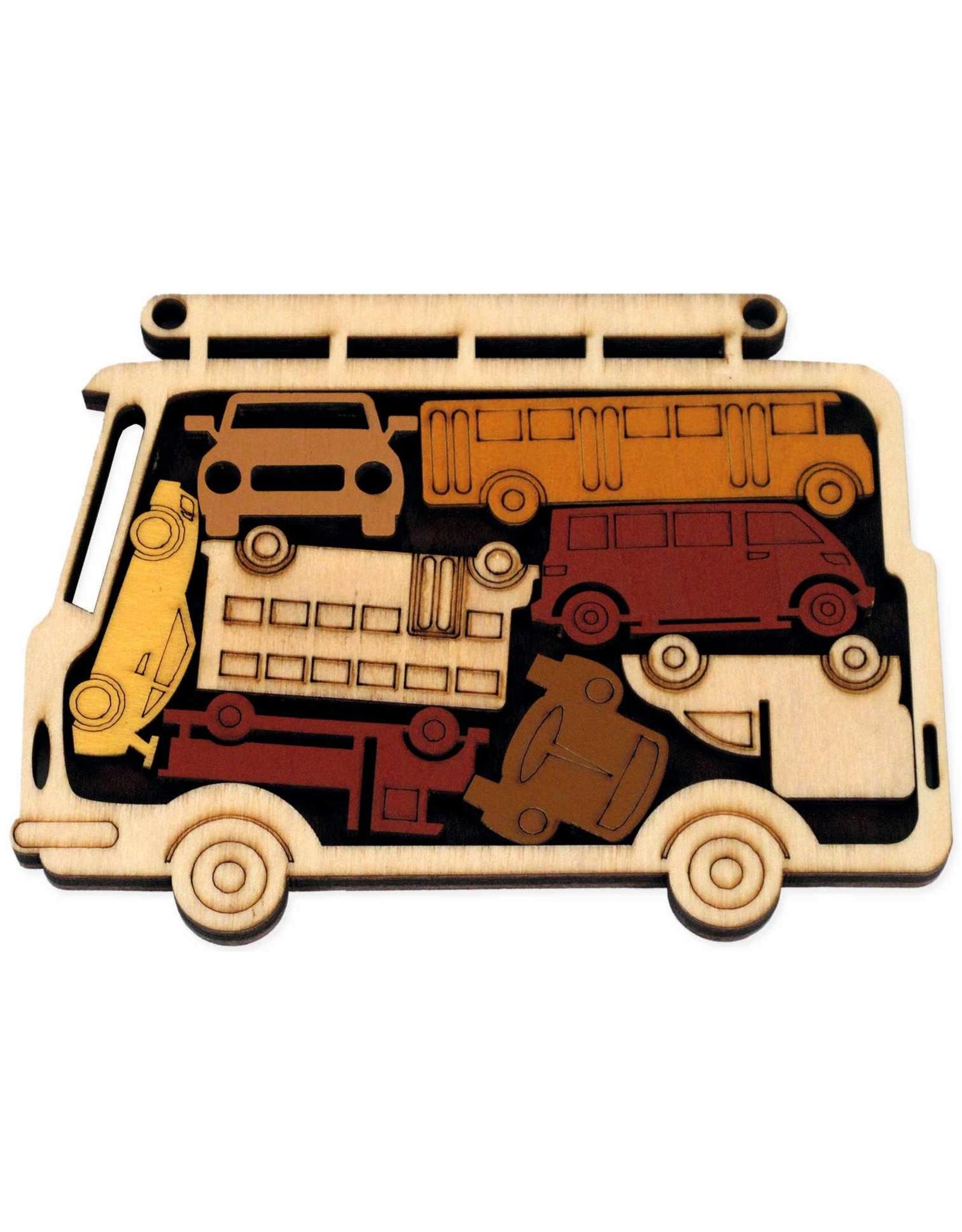 """Recent Toys Frame Puzzle """"Car Park"""""""