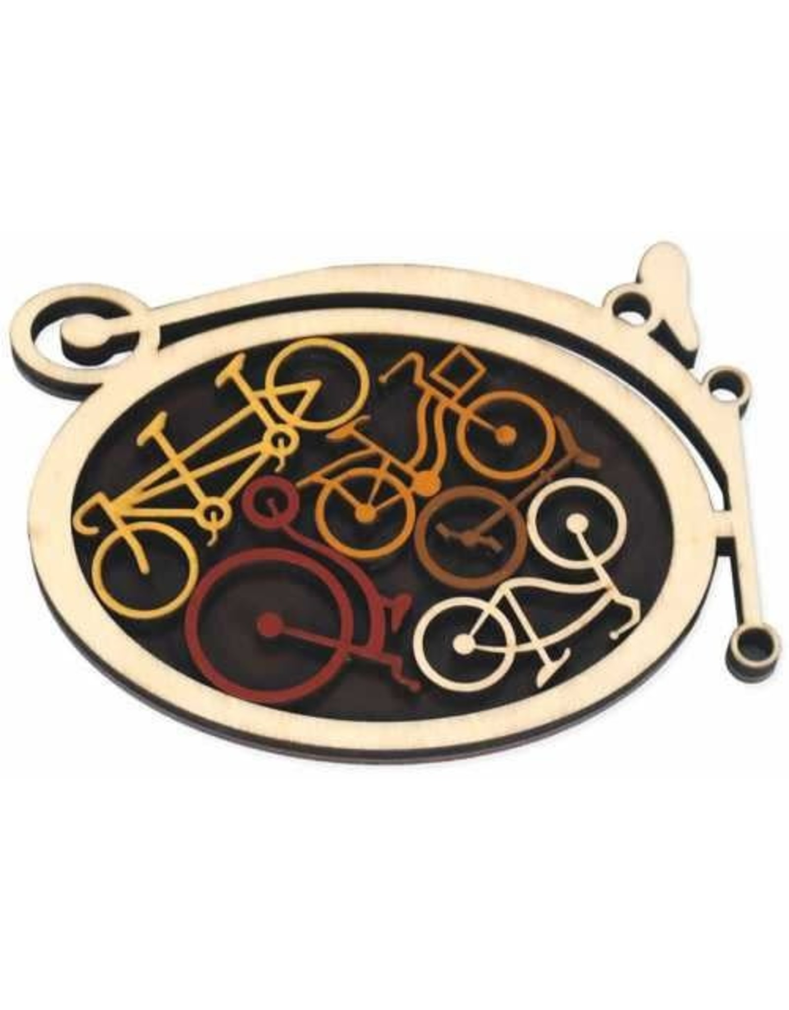 """Recent Toys Frame Puzzle """"Bike Shed"""""""