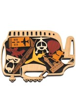 """Recent Toys Frame Puzzle """"The Airport"""""""