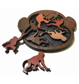 """Recent Toys Frame Puzzle """"Monkey Madness"""""""