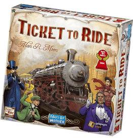 Hasbro Ticket to Ride USA