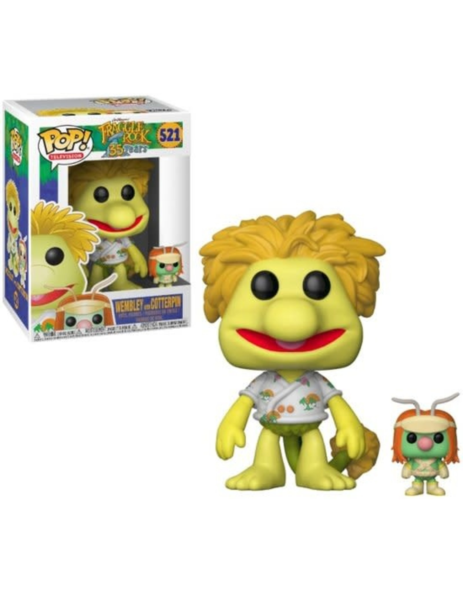 Funko Pop! Funko Pop! Television nr521 Fraggle Rock - Wembley with Cotterpin