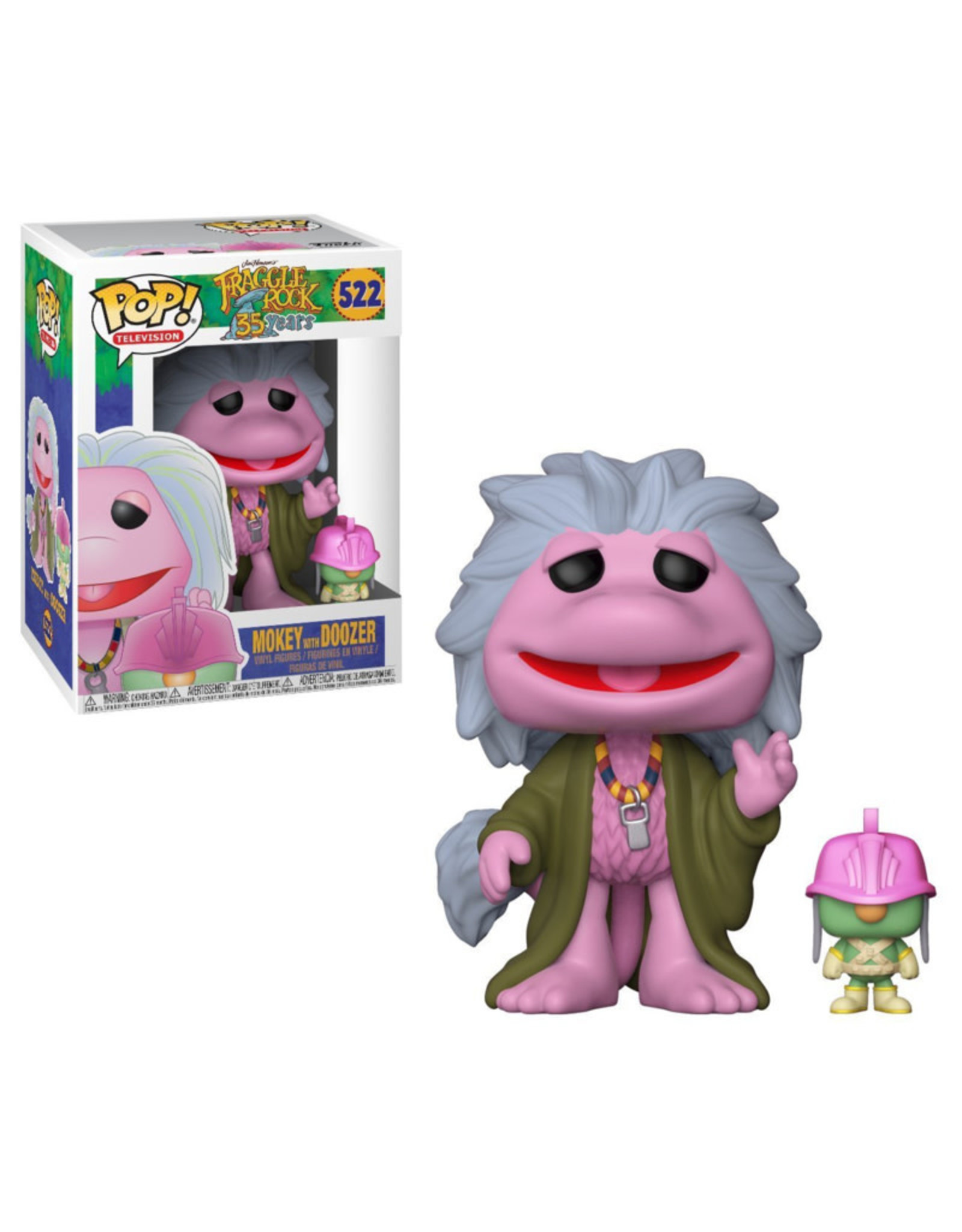Funko Pop! Funko Pop! Television nr522 Fraggle Rock - Mokey with Doozer