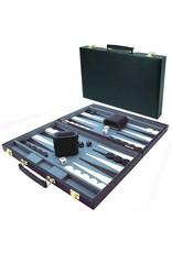 Backgammon Koffer Zwart