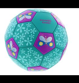 """Crocodile Creek Soccer Ball """"Butterflies"""" Size 3"""