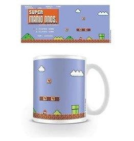 Mok Super Mario Retro Title
