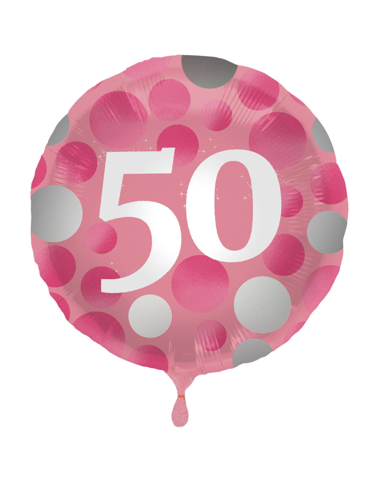 """Folie Ballon 50 """"Glossy Pink"""""""