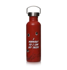 Marvel Deadpool Metal Water Bottle