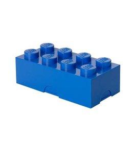 Lego Lunchbox Brick 8 Blauw