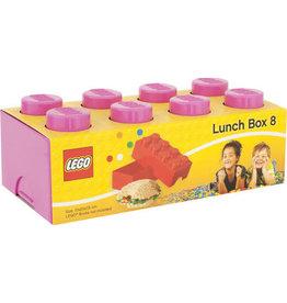 Lego Lunchbox Brick 8 Roze