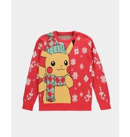 Pokémon Pikachu Red Christmas Sweater