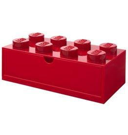 Lego Lego Desk Drawer Brick 8 Rood