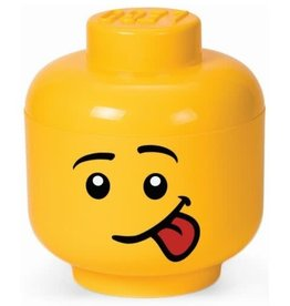 "Lego Lego Storage Head XS ""Boy Silly"""