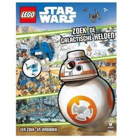 """Lego Lego Boek - Star Wars """"Zoek de Galactische Helden"""""""