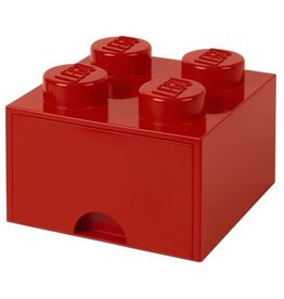 Lego Lego Storage Drawer Brick 4 Rood