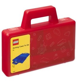 Lego Lego Sorteerkoffer To Go Rood