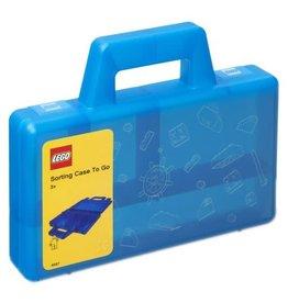 Lego Lego Sorteerkoffer To Go Blauw