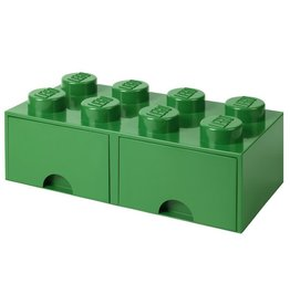 Lego Lego Storage Drawer Brick 8 Groen