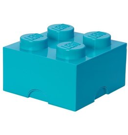 Lego Lego Storage Brick 4 Blauw Azur