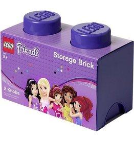 Lego Lego Storage Brick 2 Lego Friends Paars
