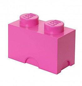 Lego Lego Storage Brick 2 Roze