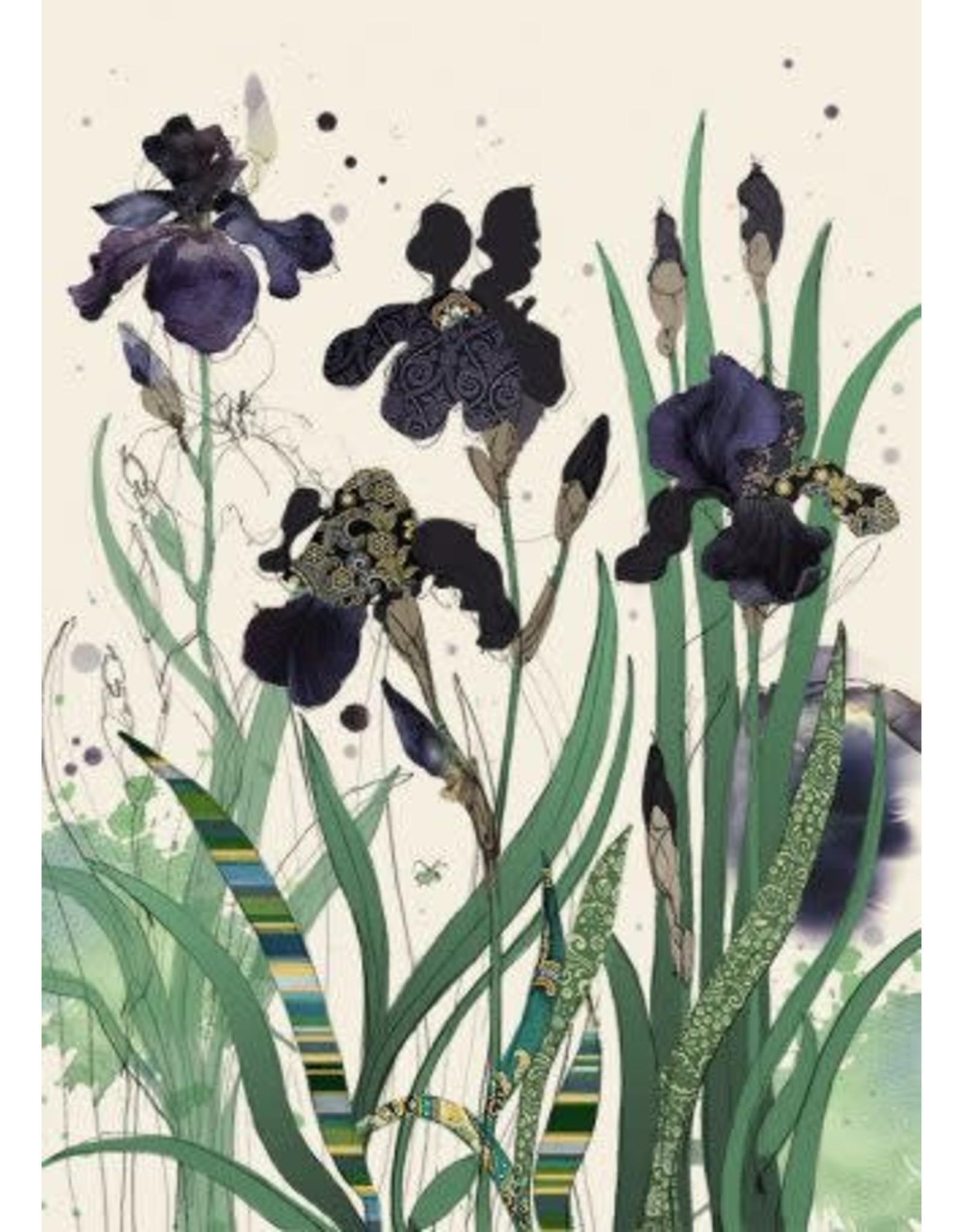 """BugArt BugArt """"Black Irises"""""""