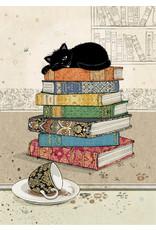 """BugArt BugArt """"Books Kitty"""""""