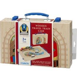 Wooden Travel Train Case