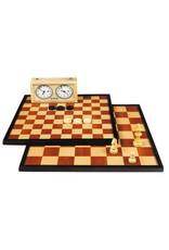 Longfield Games Dam/Schaakbord Luxe