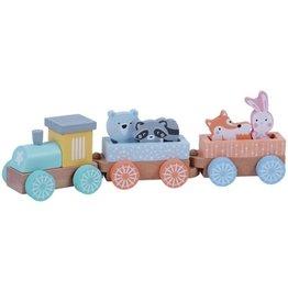 Wa Wa Animal Train Set Woodland