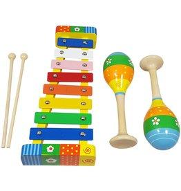 Playwood Muziekset Pastel