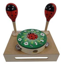 Playwood Muziekset Lieveheersbeest