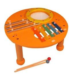 Playwood Muziek Tafel Oranje