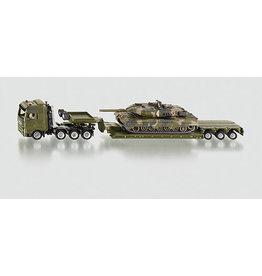 Siku Siku 1872 - 1:87 Militair Zwaartransport met Tank