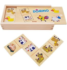 Houten Domino Boerderij