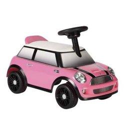 Rollplay Rollplay Mini Cooper Loopauto Roze