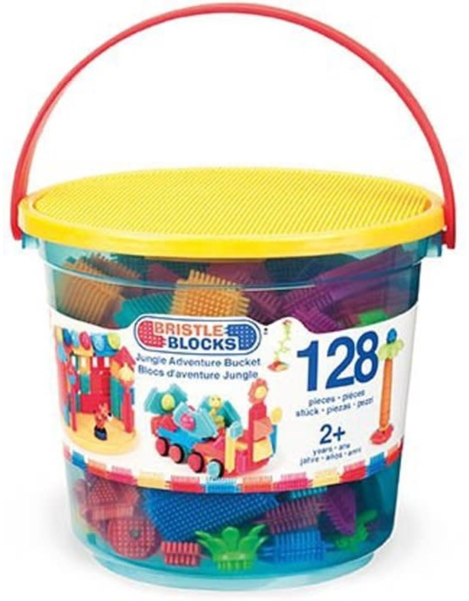 Bristle Blocks Bristle Blocks Jungle Adventure Emmer 128 dlg