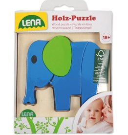 Holz-Puzzle Olifant