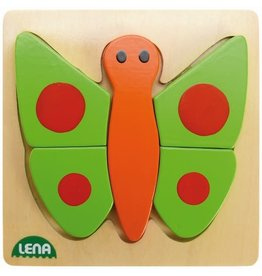 Holz-Puzzle Vlinder