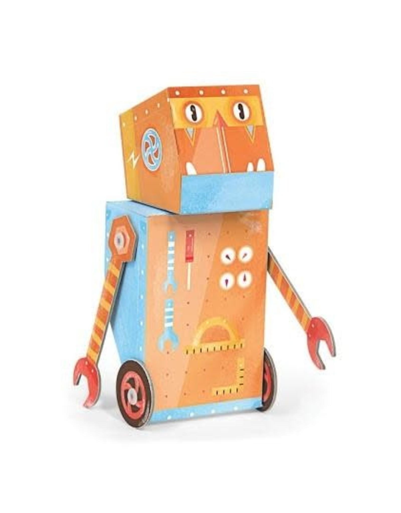 Krooom Fold My Robot - Handyman Robot